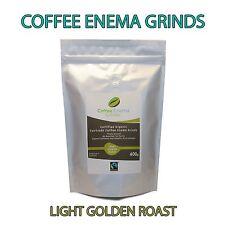 ORGANIC FAIRTRADE COFFEE ENEMA GRINDS 400g LIGHT ROAST - GERSON - AIR ROASTED