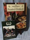 Retired 1995 The Portmeirion Recipe Book of Feasts & Festivals Illustrated +