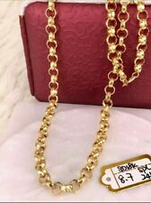 GoldNMore: 18K Gold Necklace 24 inches Chain