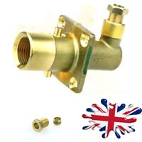 UK Filling Point Bayonet type to 8mm brass pipe - 90 degrees Autogas LPG FILLER