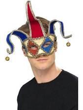 Venetian Musical Jester Eyemask,  One Size, Eyemasks,  #AU