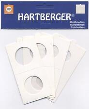 HARTBERGER MÜNZRÄHMCHEN 100 ST. Selbstklebend 27,5 mm
