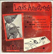 """LOUIS ARMSTRONG Vinyl 45 tours SP 7"""" SAINT LOUIS BLUES"""