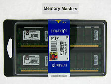 KTM2865/8G 8GB (2x4GB) PC2-3200 DDR2-400 240PIN Registered Server RAM Kit