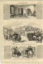 1855 Lord Raglan's Remains Funeral Procession And Car