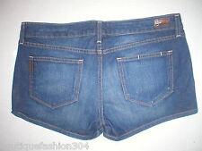 New Womens NWT $169 Paige Premium Denim Jean Shorts Medium Blue 31 Designer