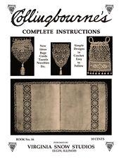 Collingbourne's #16 c.1916 Complete Instructions for Crochet Purses & Laces