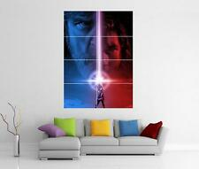 STAR WARS THE LAST JEDI GIANT XL WALL ART PRINT LIGHTSABRE PHOTO POSTER
