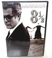 2E 8 1/2 DVD The Criterion Collection Federico Fellini Double Disc Set