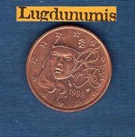 FRANCE - 1999 - 5 centimes d'euro - Pièce neuve de rouleau -