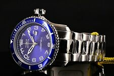 Invicta 48mm Pro Diver Scuba Gen II Navy Blue Dial 300M SS Bracelet Watch NEW!!!