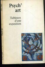PSYCH'ART--  1969 - JEAN BOBON - ART BRUT