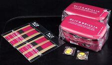 お弁当 LOT 2 BENTO BOX - Lunch Box GLIT & BRILLIA Made in Japan + élastiques BLANC