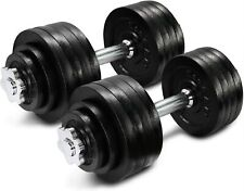 Brand New Yes4All Adjustable Dumbbells 105 lbs (2x52.5lbs) Pair weight set