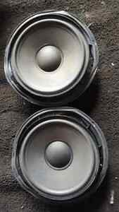 AUDI A4 2007 S LINE FRONT SPEAKERS CONVERTIBLE