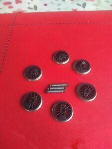 Romford wheels 18mm X 6.   00 Gauge