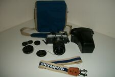 Olympus OM-10 Camera with Accessories