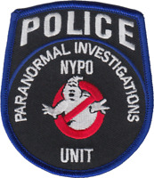 NEW YORK CITY POLICE DEPARTMENT SHOULDER PATCH: Paranormal Investigations Unit