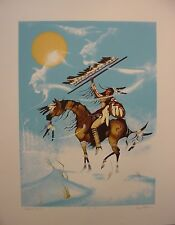 Buffalo Spirit by Garry Meeches Ltd Edition Print Great Canadian Print Co