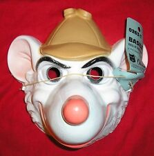 1986 BASIL Plastic Mask - Disney's THE GREAT MOUSE DETECTIVE