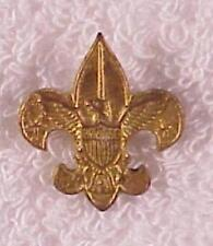 BSA Rank Pin: Tenderfoot Scout, safety pin fastener, Stars Out