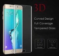 3D Curved Edge Full Cover Tempered Glass Screen Protector for Samsung S7