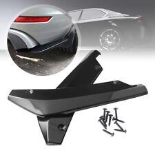 2x Car Rear Bumper Lip Splitter Diffuser Chin Spoiler Canard Protector Universal