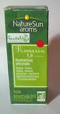 NatureSun Aroms - Huile essentielle Romarin 1.8 Cinéole Bio - 30 ml