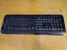 Microsoft  Wireless Keyboard 800 #1455 (No receiver) Black Low Profile