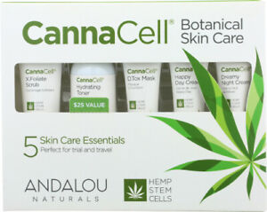 CannaCell Botanical Kit 5 Count by Andalou Naturals