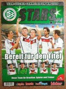Ferrero * Team-Sticker Sammelalbum Stars WM 2014 *** LEERALBUM ***