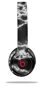 Skin Beats Solo 2 3 Electrify White Wireless Headphones NOT INCLUDED