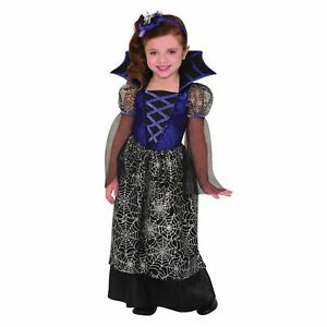 Girls Miss Wicked Web Fancy Dress Costume Halloween Childrens Outfit