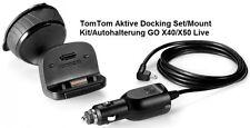 TOMTOM/TOM TOM GO 540/740/940LIVE550/750/950 AUTOHALTERUNG KIT+LADEKABEL 12VOLT