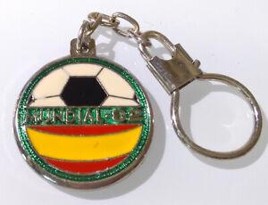 RARE Vintage Keychain ✱ SPAIN 82 FIFA WORLD CUP ✱ Porte-Clés Football Soccer #2