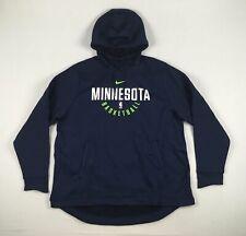 Minnesota Timberwolves Nike Sweatshirt Men's Navy Dri-Fit New Multiple Sizes