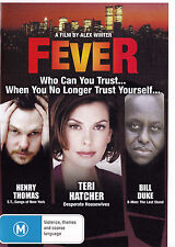 FEVER Henry Thomas / Teri Hatcher DVD Region Free - New - PAL