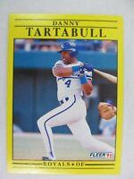 Danny Tartabull Kansas City Royals 1991 Fleer Baseball Card 572