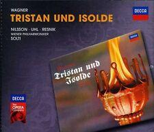 Tristan Und Isolde - R. Wagner (2012, CD NIEUW) Solti/Nilsson/UHL/Resnik4 DISC S