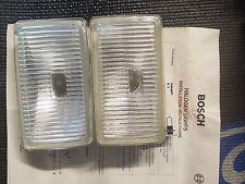 86-98 Saab 9000 Fog Light Lens Pilot Bosch Lamp Halogen set