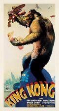 King Kong, 1933 Vintage Movie Art Print Huge Oversize Poster 54x29