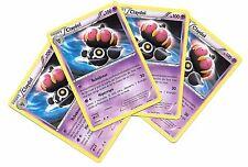Pokemon 4 CLAYDOL 33/98 Raro x4 Español Ancient Origins NM Spanish