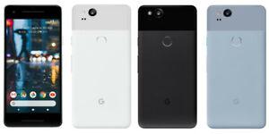 Google Pixel 2 XL 128GB/64GB - Débloqué Just Noir/Noir & Blanc Smartphone