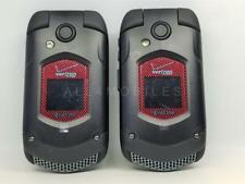 Lot of 2 New Kyocera E4520Nc DuraXv Ptt Verizon Cell Phones Pls Read