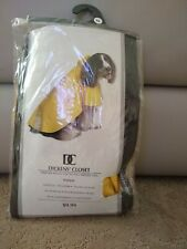 Dickens Closet Yellow Dog Raincoat  XL