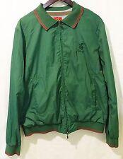 Pringle of scotland mens green nylon jacket outerwear windbreaker size xl