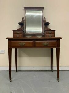 Antique Mahogany Dressing table with drawers