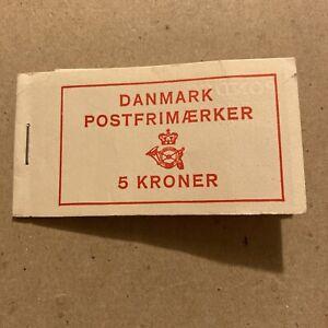 Booklet Of Stamps From Denmark 1967 5 Kroner