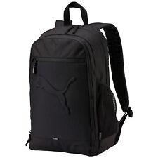 Puma Buzz backpack mochila Sport MOCHILA BOLSO Black negro adultos nuevo