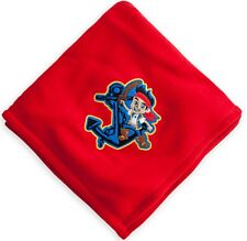 Disney Store Jake & the Never Land Pirates Super Soft Red Fleece Throw Blanket